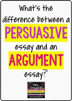 How to argumentative essay